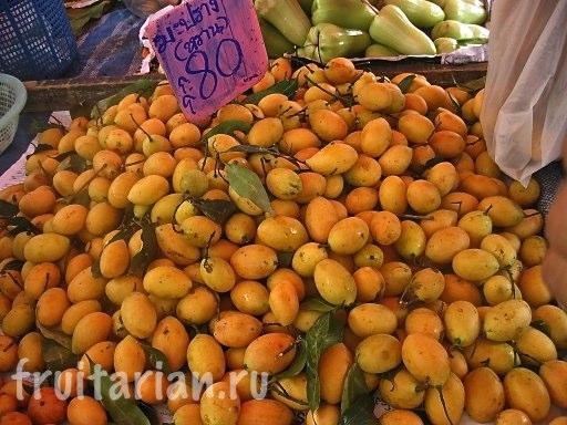 Тайские сливы
