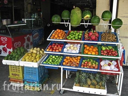 Фрукты в Малайзии (о.Пенанг)