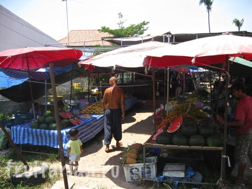 рынок на Rawai