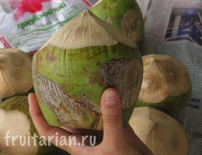 Маленькие тайские кокосы