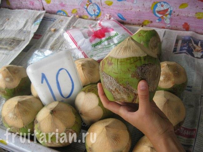 Молодые кокосы мини