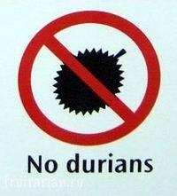 Запрет на дурианы