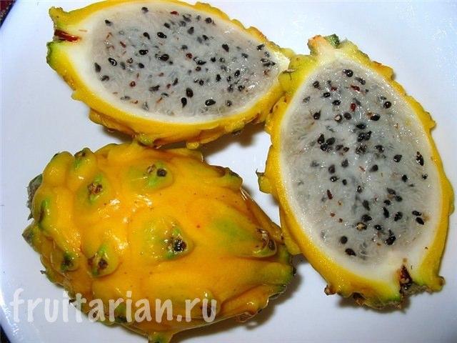 драконий фрукт желтый