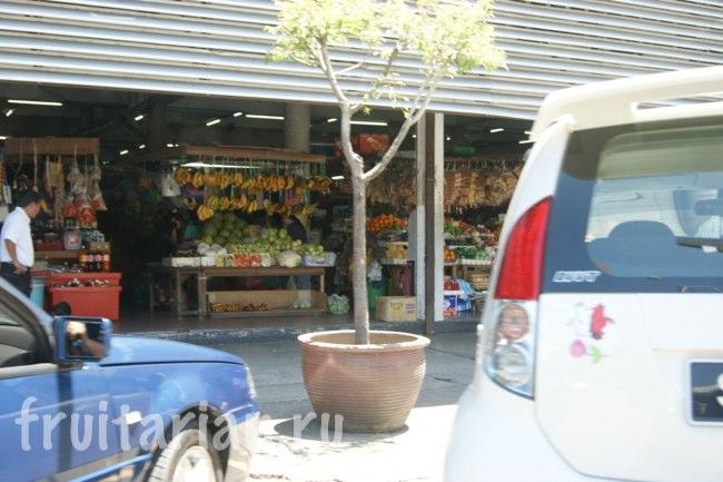 Фруктовый рынок в Кота Кинабалу