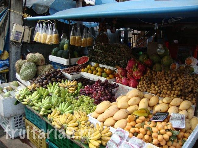 фруктовые рынки Пхукет