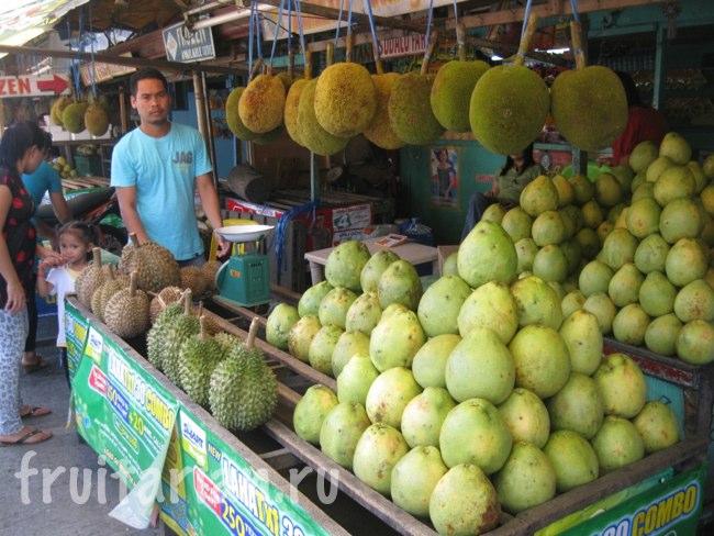 Фруктовый рынок Magsaysay