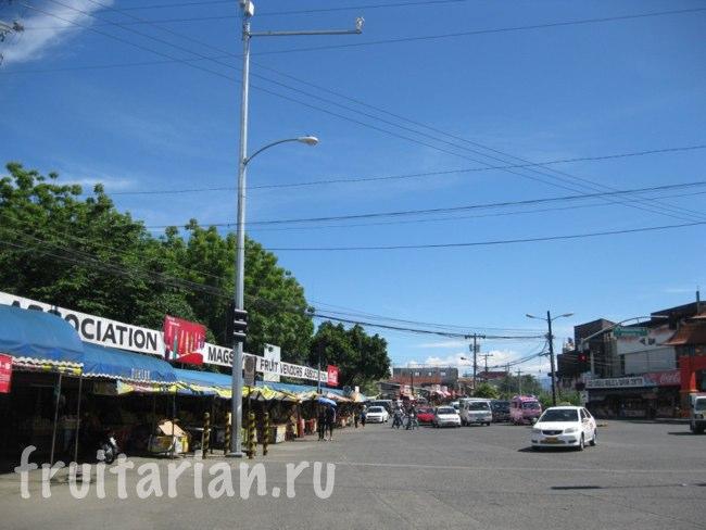 рынок Magsaysay в Давао