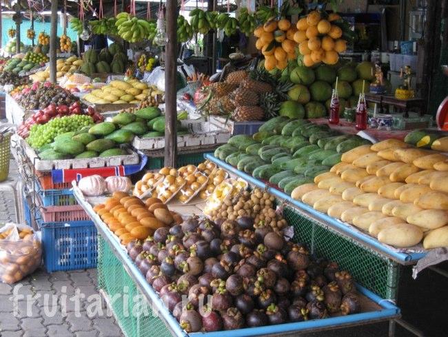 фрукты на Пхукете