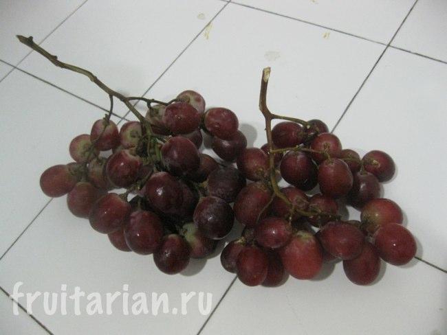 красный виноград в Таиланде