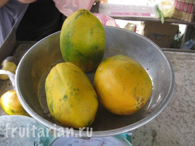 гавайская папайя