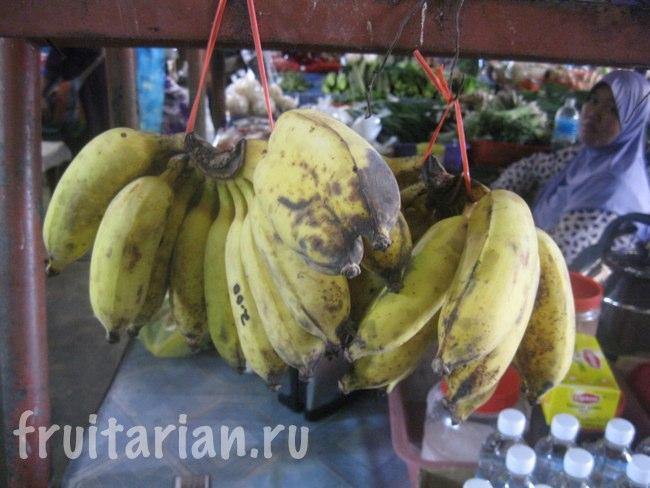 Тайские бананы в Малайзии