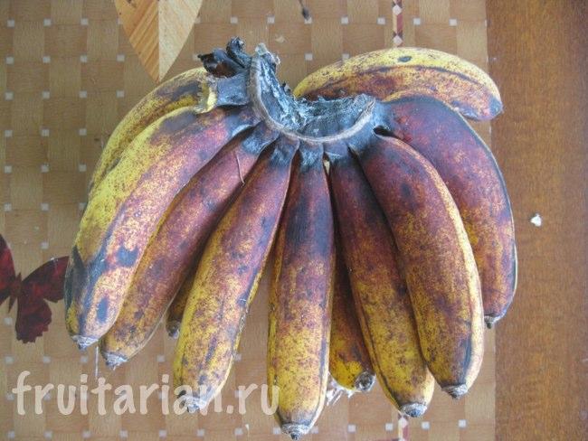 бананы со вкусом вяленых