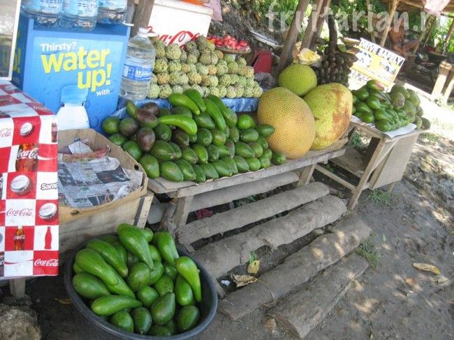 фруктовая лавка у порта