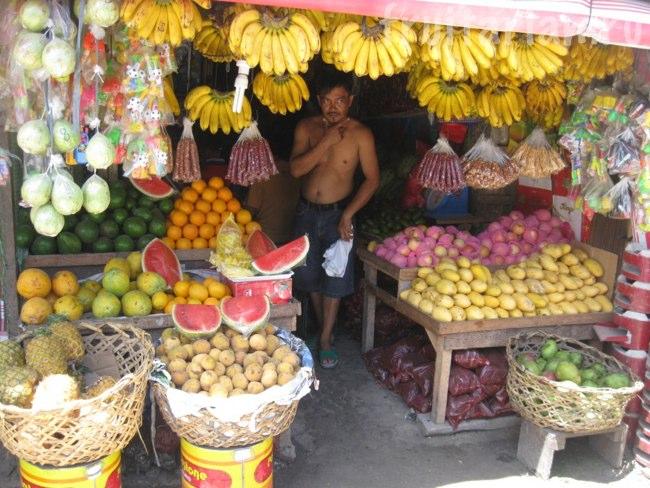 фрукты на Самале