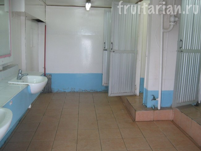 туалет на пароме на Панган