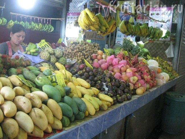 фруктовый рынок Ката на Пхукете