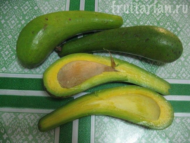 длинные авокадо Самал