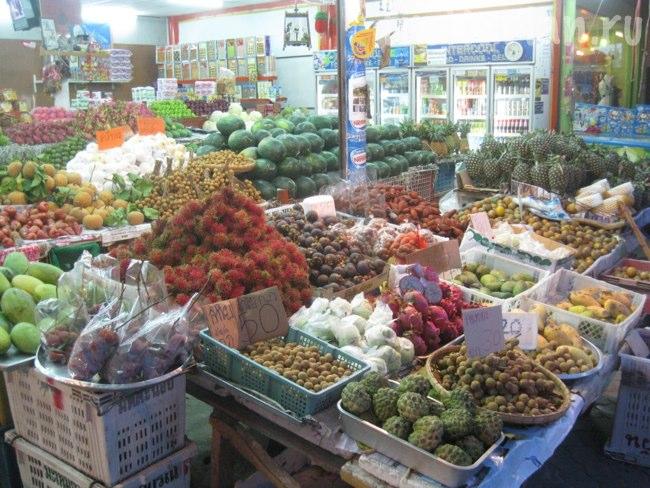 Основной фруктовый рынок