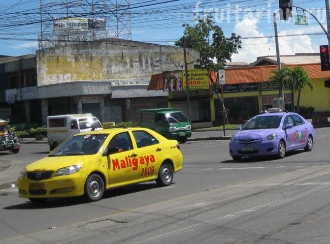 такси в Давао