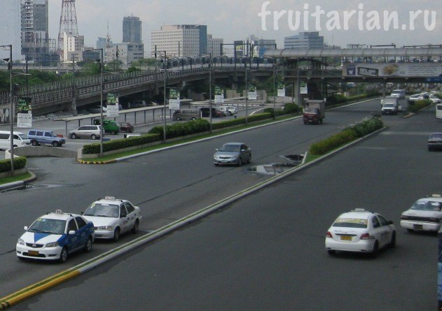 такси в Маниле