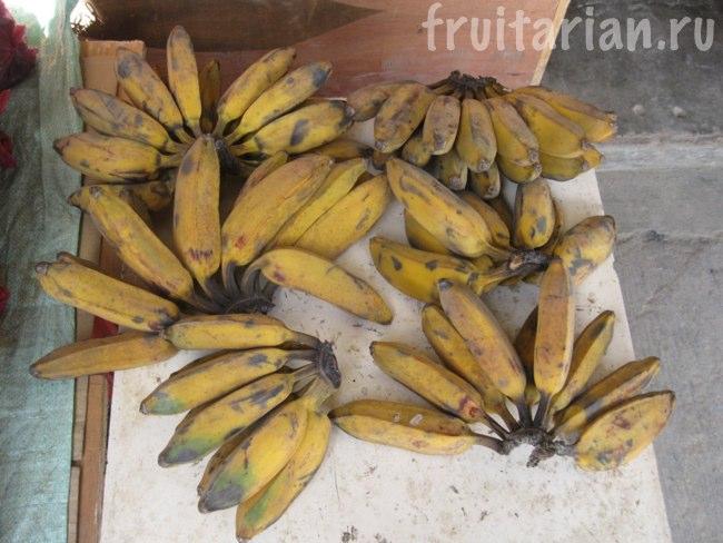 Удлинённые волосатые бананы
