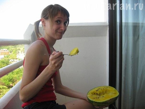 жёлтый арбуз