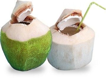 обтесанные кокосы