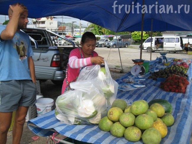 кокосы и помело