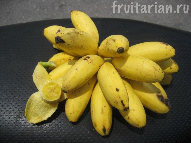 Мини круглые бананчики