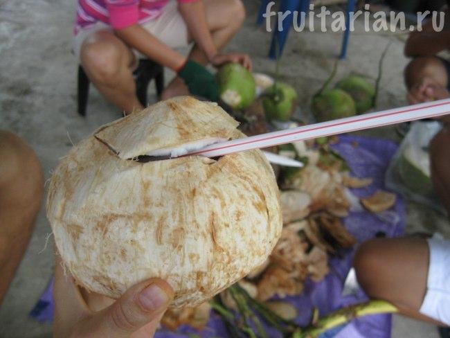 обтёсанный кокос
