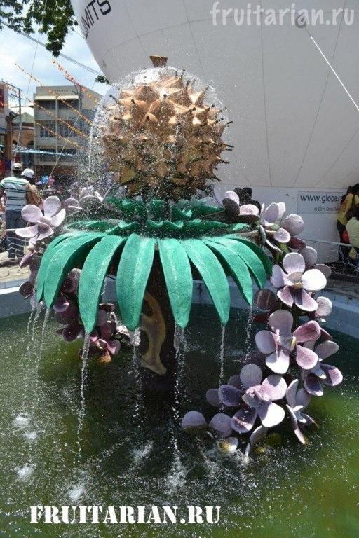 дуриановый фонтан