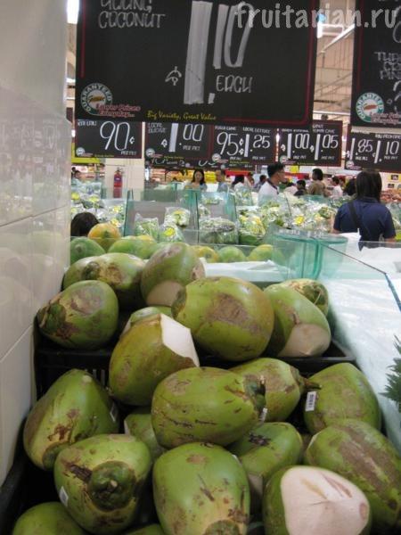 малазийские кокосы