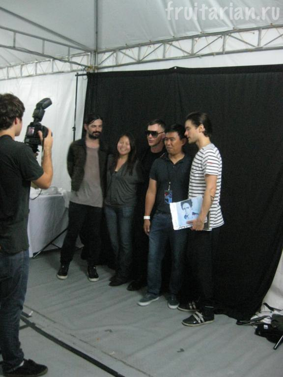 Meet&Greet c 30 Seconds to Mars