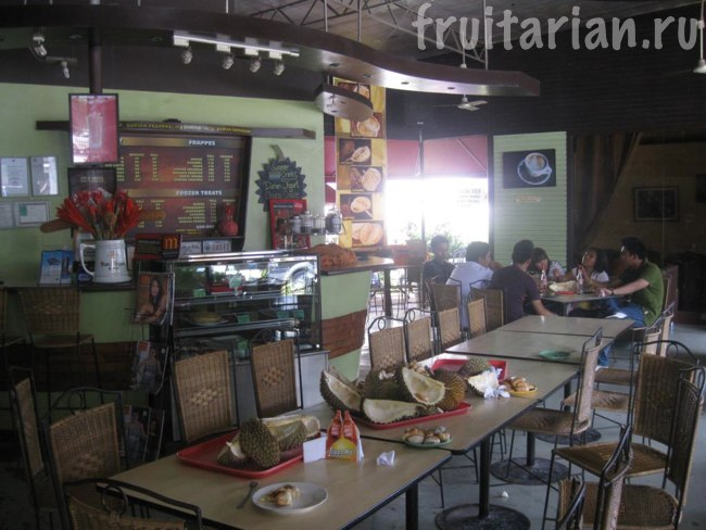 дуриановый ресторан