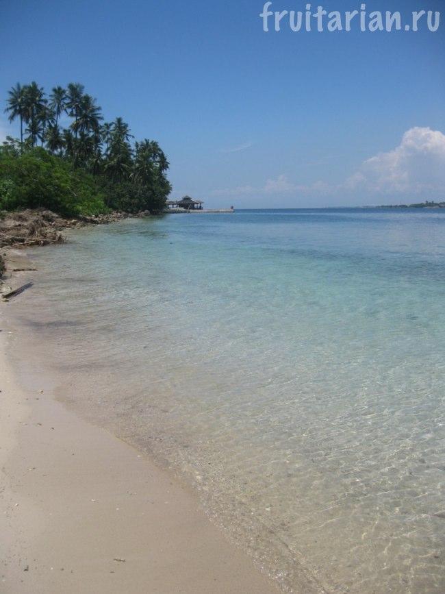Наш пляж на острове Самал
