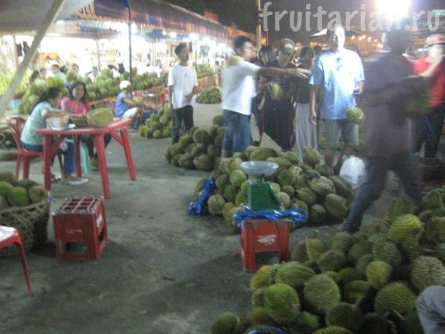 Дуриановый рынок Magsaysay