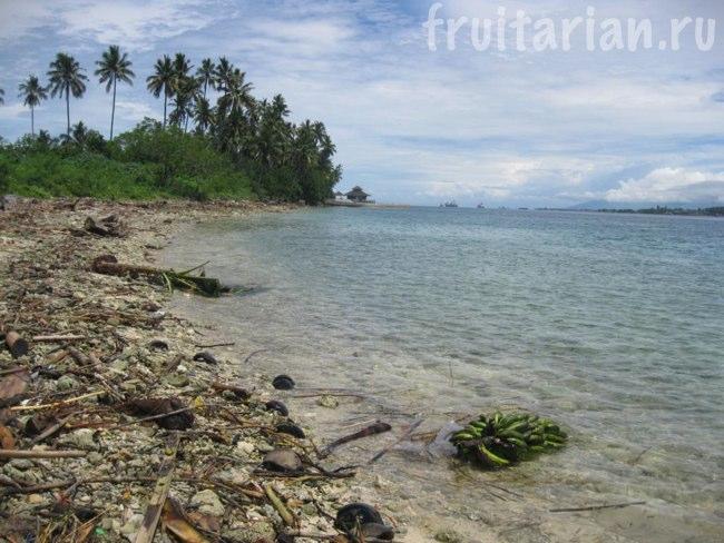 пляж на Самале