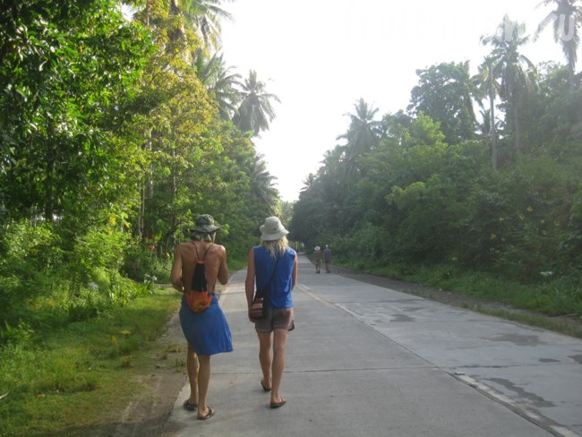 поход по острову Самал
