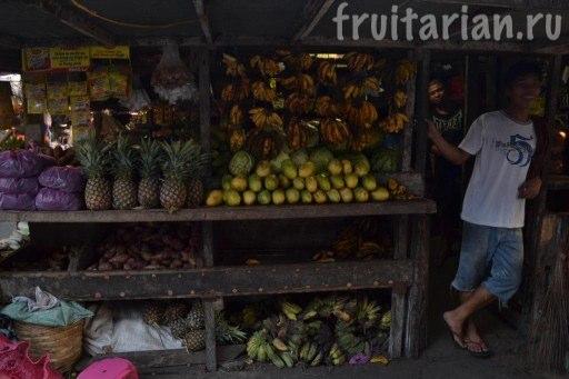 Фруктовый рынок Talipapa