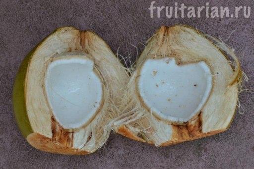 сок из кокосовой мякоти