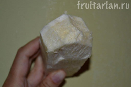 ствол кокосовой пальмы