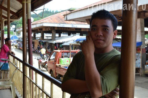 продавец дурианов