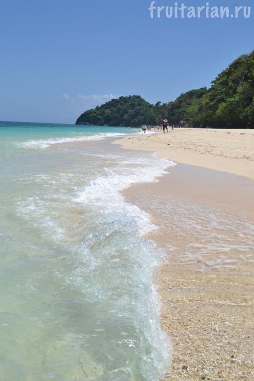 Пляж Puka Shell