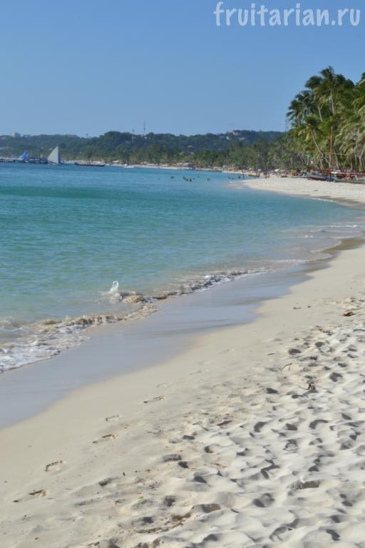 Пляж White Beach