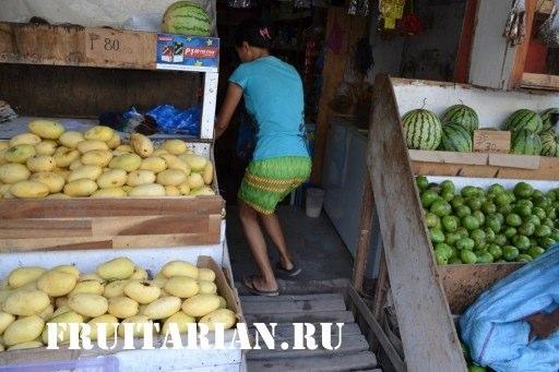 фрукты боракая