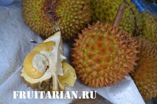 Дуриан на Бали