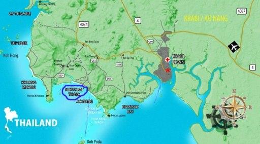 Nopparat-Thara-map