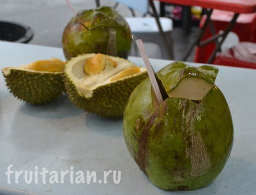 kokos-i-durian