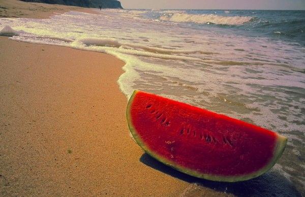 watermelon-beach